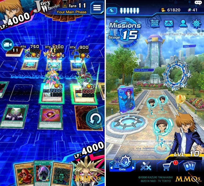 game Yu-gi-oh 3D tren dien thoaigame Yu-gi-oh 3D trên điện thoại